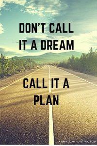 Don't call it a dream