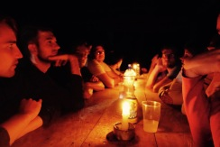 Ciudad Perdida: Candle light dinner