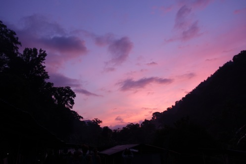 Ciudad Perdida: Mountain morning sky